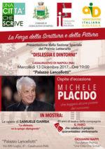 """Michele Placido al premio letterario """"Una Città che Scrive"""""""