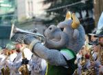 Rome New Year's Day Parade! 1 gennaio a Piazza del Popolo