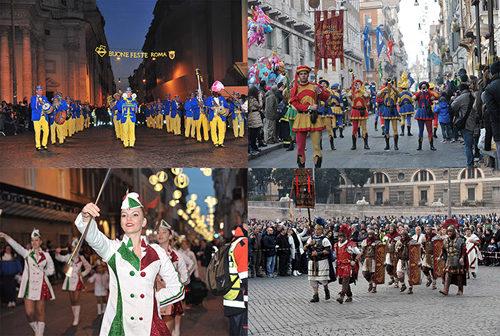 Rome New Year's Parade: cast e programma