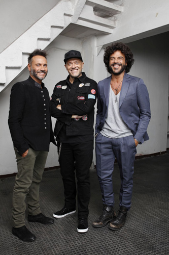 Max-Nek-Renga: il 28 aprile il trio arriva all'Arena di Verona