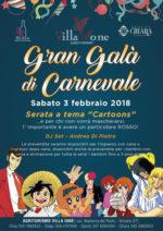 Gran Veglione a tema Cartoons, sabato 3 febbraio a Villa Ione a Vetralla