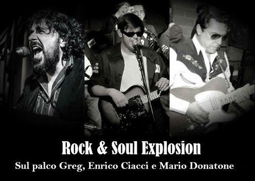 Rock & Soul Explosion con Greg, Ciacci e Donatone live al Cotton Club di Roma