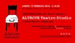 Altrove Teatro Studio, il nuovo teatro nel cuore di Roma. L'inaugurazione