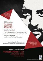 Giuseppe Anastasi presenta Canzoni ravvicinate del vecchio tipo. Interverrà il Maestro Mogol
