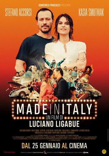 Grande successo per Made in Italy, il film di Luciano Ligabue, con Stefano Accorsi e Kasia Smutniak