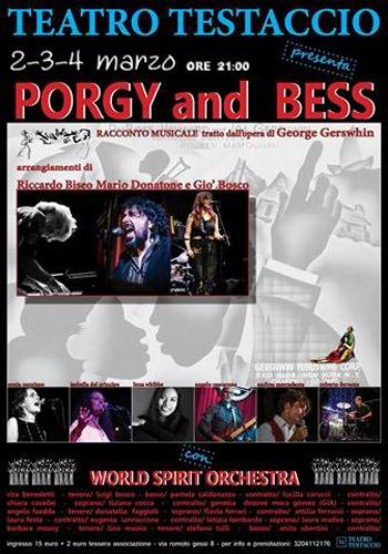 Porgy & Bess, uno spettacolo diretto da Mario Donatone in scena al  Teatro Testaccio di Roma
