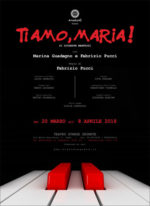 TI AMO, MARIA! di G. Manfridi con Marina Guadagno e Fabrizio Pucci al Teatro Stanze Segrete