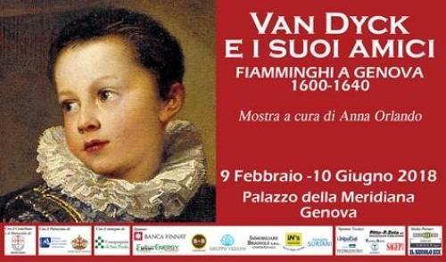 Van Dyck e i suoi amici. Fiamminghi a Genova 1600-1640 nel 2018