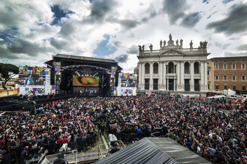 Concerto del Primo Maggio 2018  di Piazza San Giovanni a Roma. Continuano le iscrizioni a 1M NEXT