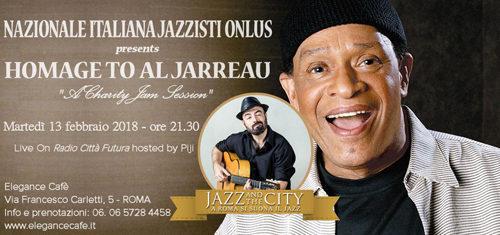 Sarà dedicata ad Al Jarreau la Jam Session di beneficenza della Nazionale Italiana Jazzisti