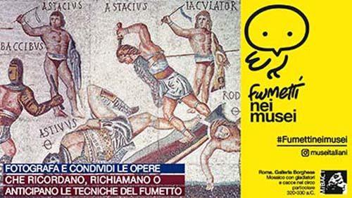 Arte, è dedicata al fumetto la campagna social dei Musei Italiani per il mese di marzo