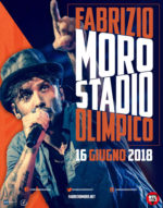 Fabrizio Moro il 16 giugno in concerto allo Stadio Olimpico di Roma!