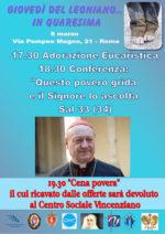 """L'8 marzo appuntamento con """"I Giovedì de Leoniano"""""""