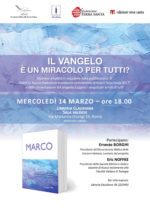 Edizioni Terra Santa: doppio appuntamento con il libro Marco