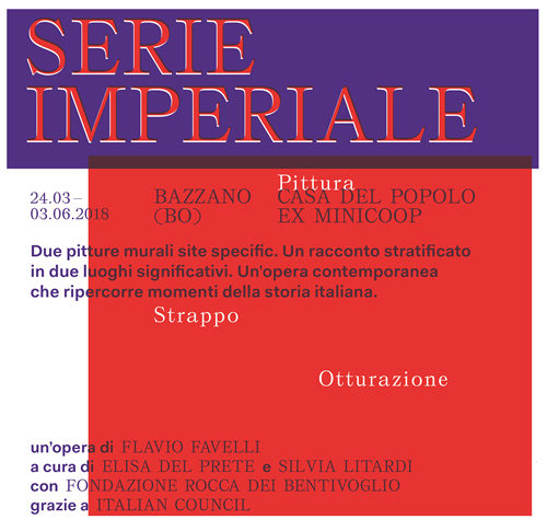 Serie Imperiale è un progetto dell'artista Flavio Favelli