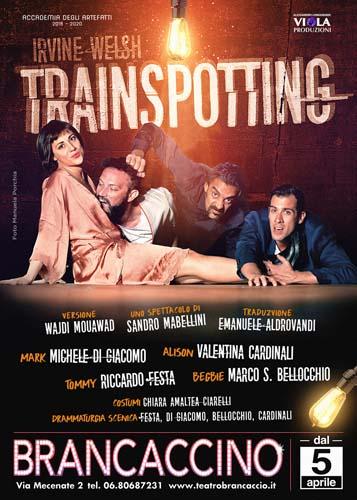 Trainspotting, lo spettacolo diretto da Sandro Mabellini in scena al Teatro Brancaccino di Roma