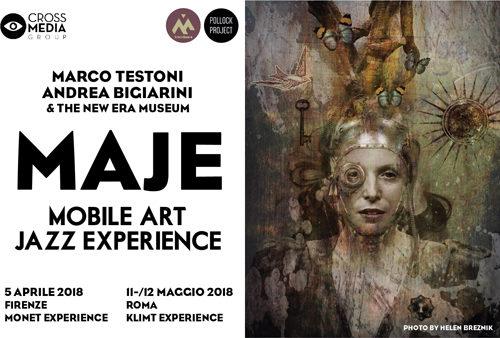 MAJE-L'Art Jazz incontra l'Iphoneografia