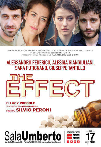 The Effect di Lucy Prebble al Sala Umberto di Roma