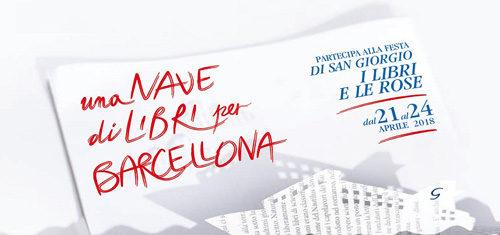 Una nave di libri per Barcellona, il programma dal 21 al 24 aprile 2018