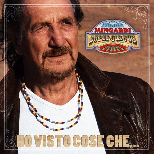 Andrea Mingardi al Teatro Il Celebrazioni di Bologna presenta live il nuovo album di inediti Ho visto cose che…