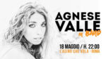 Agnese Valle: live in band a L'Asino che vola