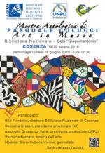 Art in music, la mostra antologica di Pasquale Colucci alla Biblioteca Nazionale di Cosenza