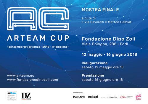 Arteam Cup 2018, al via la IV edizione. La mostra dei finalisti