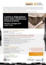SOLETERRE, domani convegno sul tema Lavoro e migrazione nuove sfide e condivisione di buone pratiche
