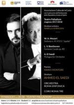 Ahmed El Saedi dirige Orchestra Roma Sinfonica e Coro Roma Tre  al Teatro Palladium di Roma