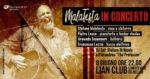 Stefano Malatesta in concerto al Lion Club al Lungotevere dei Mellini di Roma