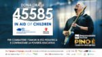 In Aid of Children, è attivo il numero solidale 45585 per sostenere Open Onlus e Save the Children!
