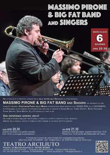Massimo Pirone & Big Fat Band and Singers al Teatro Arciliuto