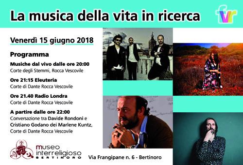 Al via a Bertinoro il Festival della Vita in Ricerca