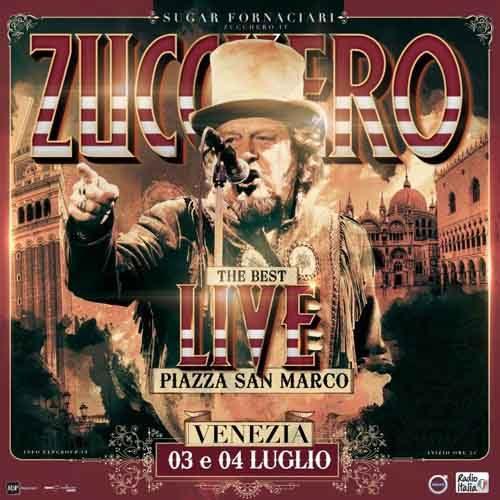 """Zucchero """"Sugar"""" Fornaciari in concerto a Venezia"""
