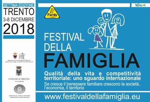Il Festival della famiglia 2018 si presenta