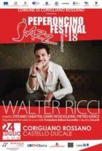 Walter Ricci domani al Castello Ducale di Corigliano Rossano
