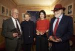 Premio Carla Fendi, premiati tre grandi nomi del mondo della scienza Peter Higgs, François Englert e Fabiola Gianotti