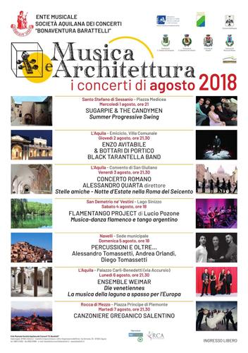 I Flamentango Project di Lucio Pozone in concerto a San Demetrio ne' Vestini – Lago Sinizzo