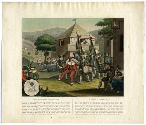 Racconti di falconeria, caccia e tiro al bersaglio a Castel Stenico