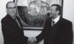 """Addio a Kofi Annan, Uomo di Pace: il pittore Guadagnuolo lo ricorda con la sua opera """"Il Debito Estero"""""""