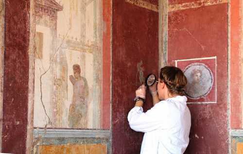 Stabiae: nuovi restauri a Villa Arianna