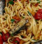 Maccheroncini con le Sarde alla Siciliana