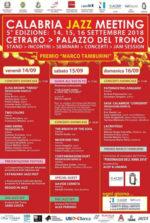 Calabria Jazz Meeting, al via a Cetraro