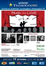 Fabrizio Bosso Quartet per Love for Music al Teatro Golden