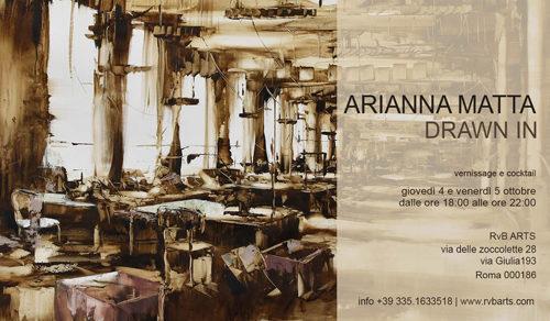 Drawn In, la mostra personale di Arianna Matta a RvB Arts di Roma