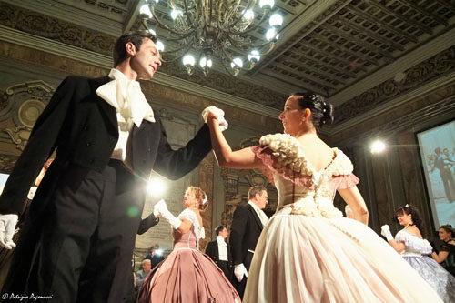 La Compagnia Nazionale di Danza Storica il 13 ottobre ad Albano Laziale durante il Listz Festival
