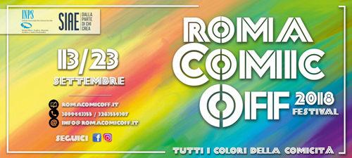 Roma Comic Off 2018