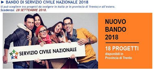 Servizio civile nazionale, adesioni entro il 28 settembre