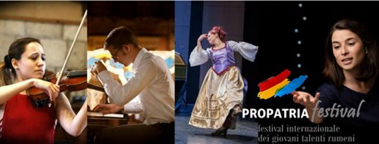 Festival Internazionale Propatria Giovani Talenti Romeni al via a Roma dal 29 settembre
