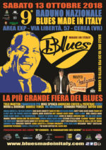 Al via Sabato 13 ottobre 2018  la 9° edizione del raduno nazionale Blues made in Italy